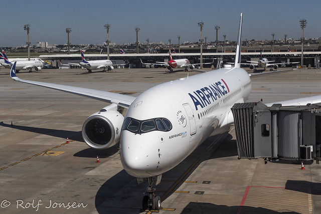 F-HTYG Airbus A359-900 Air France Sao Paulo Airport SBGR 08-04-21