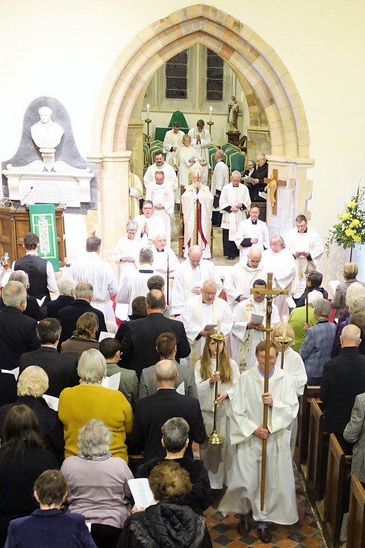 After the service
