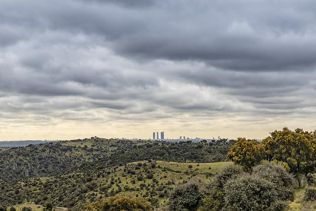Norte de Madrid ciudad