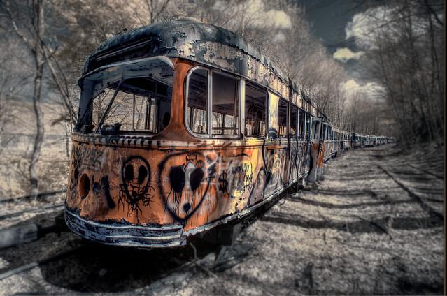 Trolley Graveyard 3 (IR)