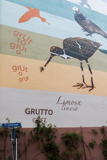 Mural, Grietstraat, Utrecht