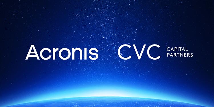 Acronis and CVC Capital Partners