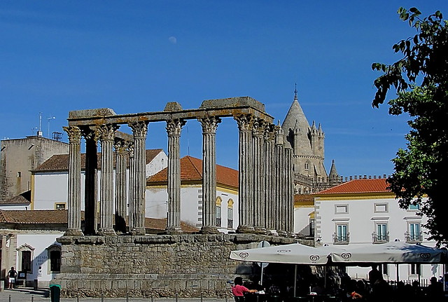 The Roman Temple of Évora