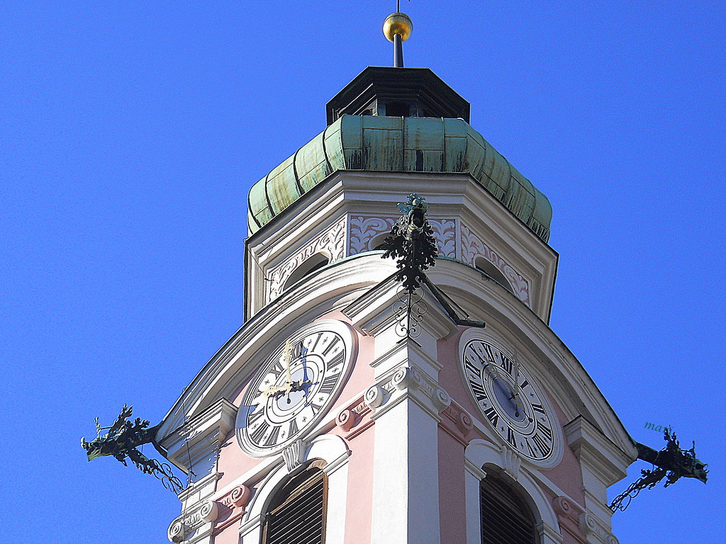 Hospital de la iglesia del Espíritu Santo.Innsbruck.