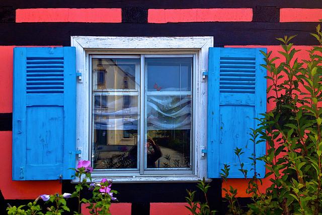 The Blue-Shuttered Window