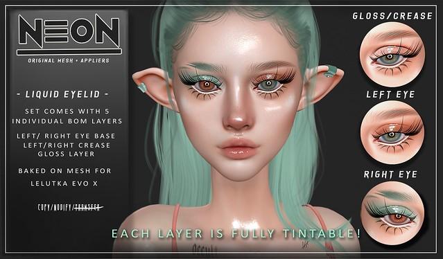 NEON - LIQUID EYELID -