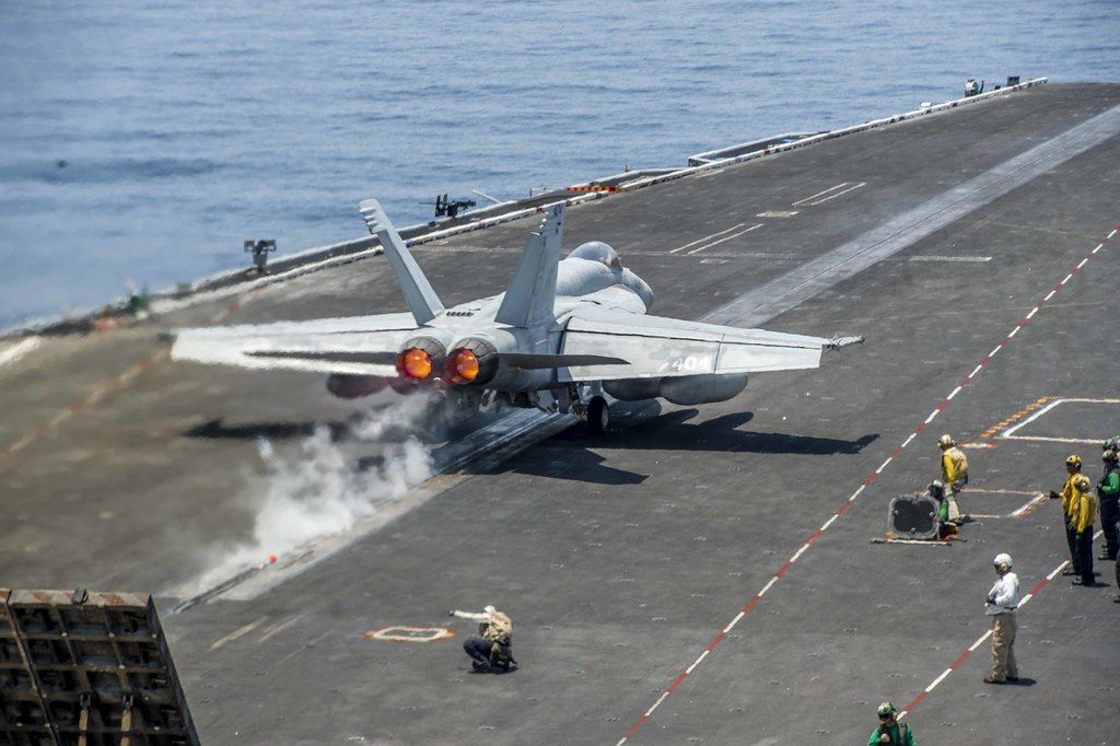Eisenhower Supports Naval Operations in 5th Fleet Area of Operations