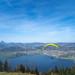 .. high above the lake
