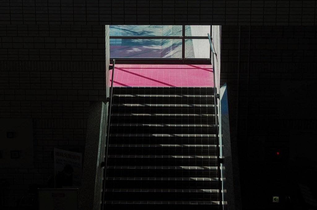 red,階段