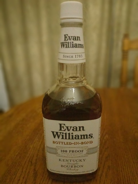 Evan Williams White Label Bottled-In-Bond