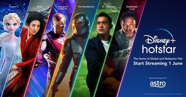 Disney+ Hotstar Malaysia Start Streaming 1 June
