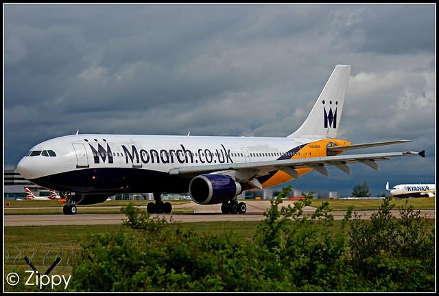 G-MONR - Monarch - Airbus A300 - MAN