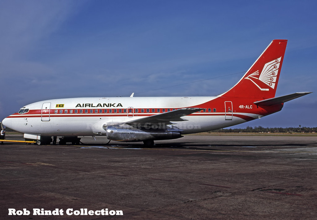Air Lanka B737-2L9/Advanced 4R-ALC