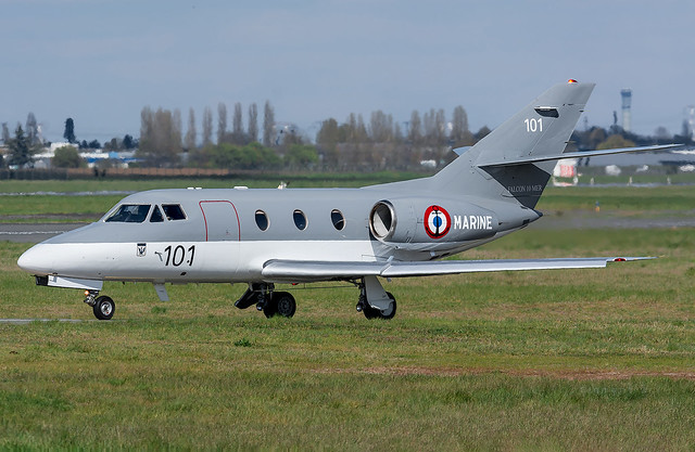 Dassault Falcon 10MER French Air Force Marine Nationale N° 101