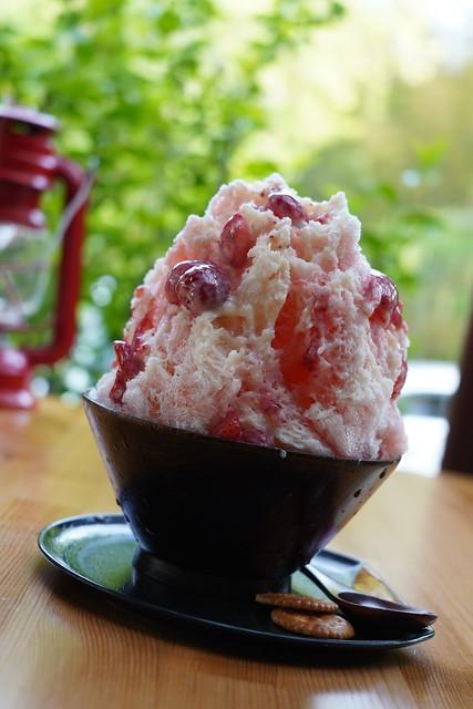 Strawberry Milk Shaved Ice
