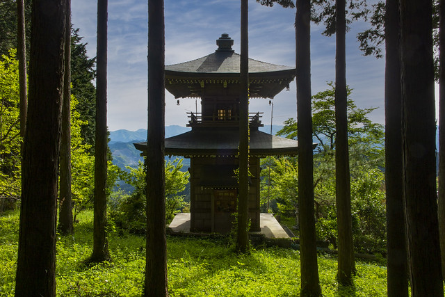 A Small Mountain Pagoda In Agano, Japan 2