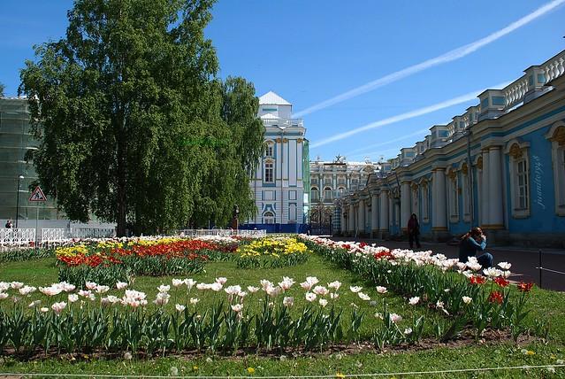 Jardines de Palacio de Catalina, prox. San Petersburgo