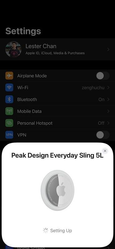 Apple AirTag iOS - Setup