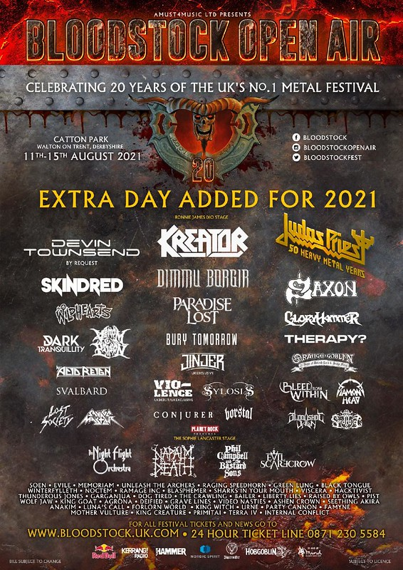 Nineteen More Bands Added To The Bloodstock Festival 2021 Line Up