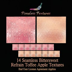 TT 14 Seamless Bittersweet Refrain Toffee Apple Timeless Textures
