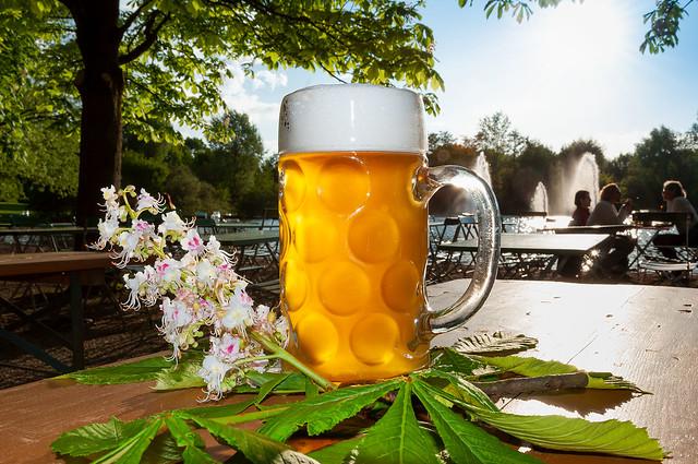 Beergarden will open soon...