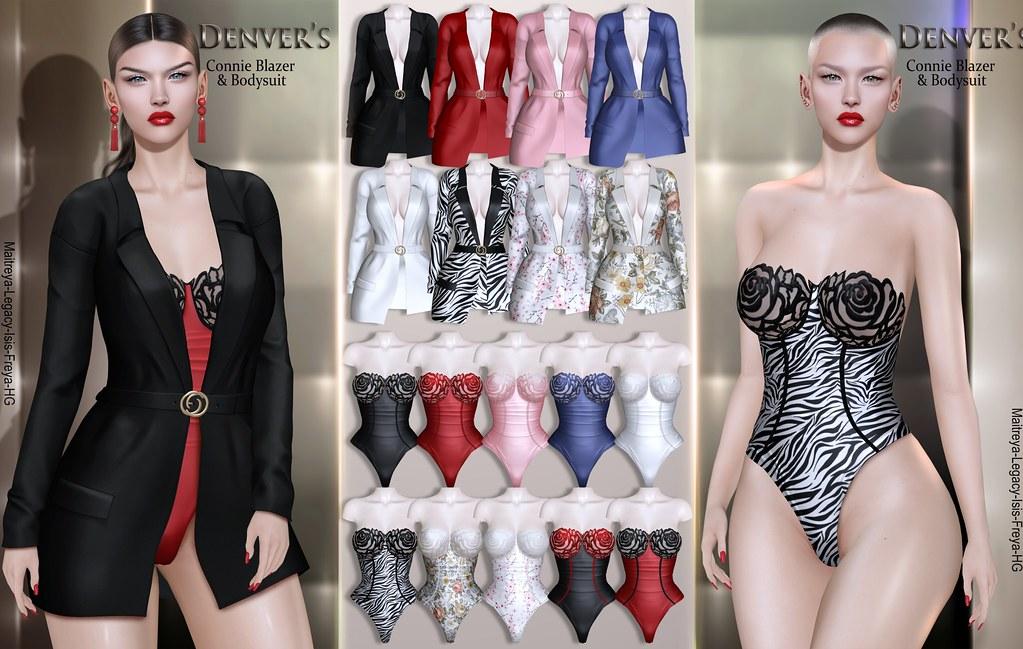 Denver's Connie Blazer & Bodysuit