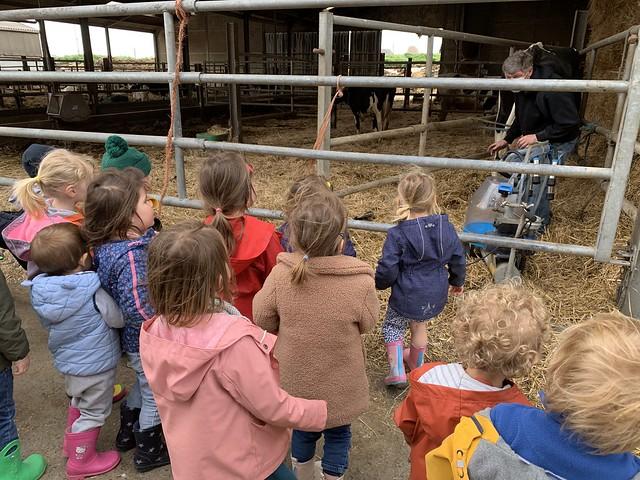P. Bezoek aan de boerderij