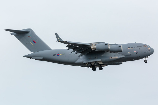 ZZ175 Boeing C-17A Globemaster III Royal Air Force