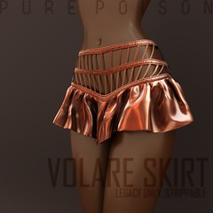 Pure Poison - Volare Skirt @ FaMESHed