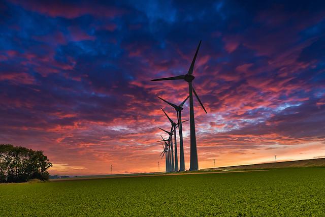 Urk - Energía eólica