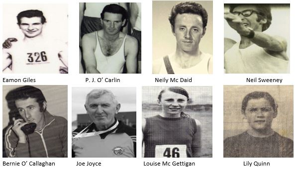 Donegal Athletics 1970 Group 7