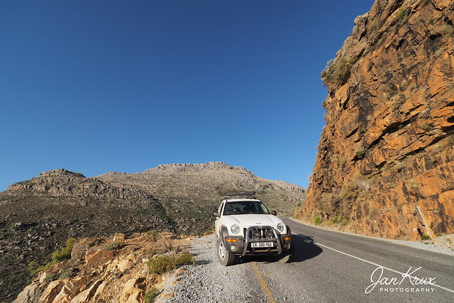 Jeeping The Uitkyk Pass