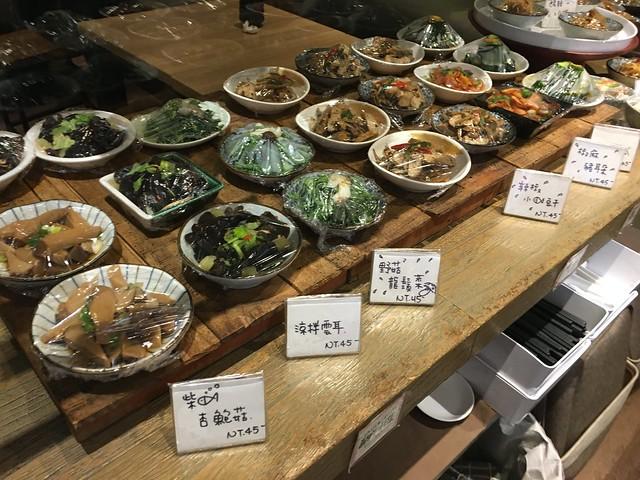 豐富多樣的小菜@餃子樂東豐店