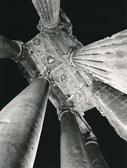 Techo del peristilo del Templo de Baco. Baalbeck. Líbano
