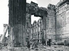 Templo de Baco en Baalbeck. Líbano