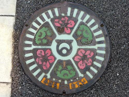 Mihara Osaka, manhole cover (大阪府美原町のマンホール)