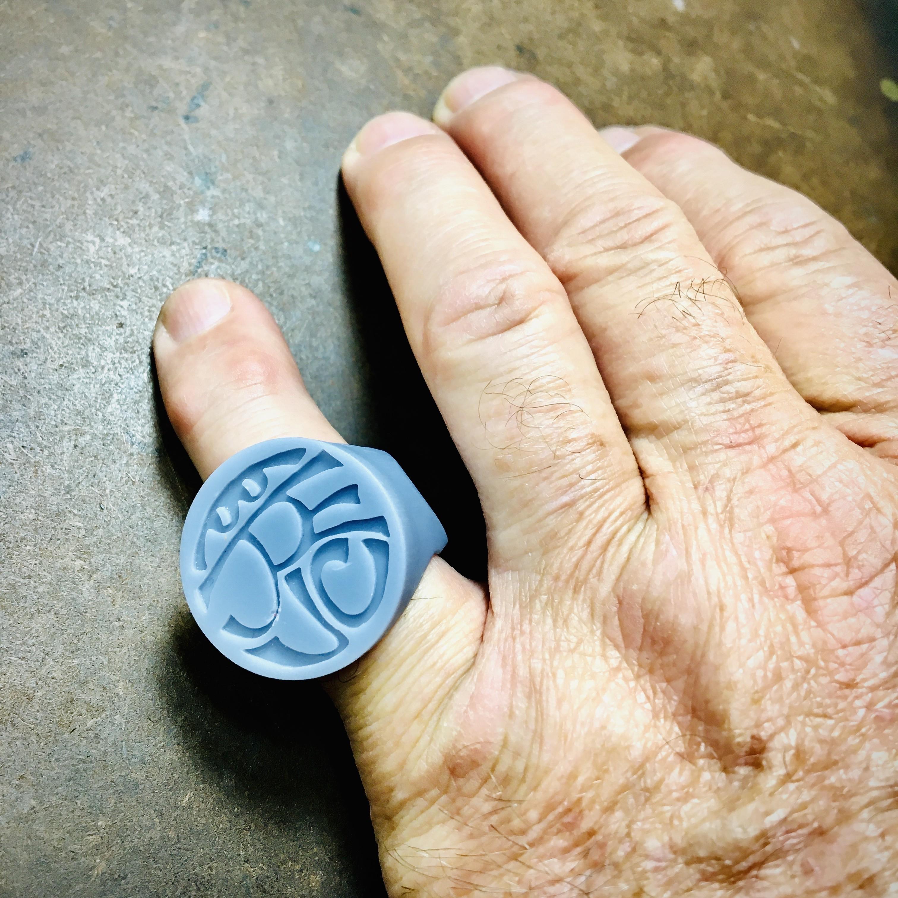 Resin Printed Insignia Ring