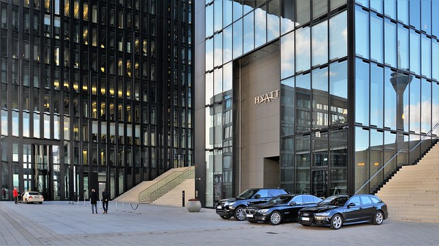 Medienhafen Düsseldorf - Hyatt Regency