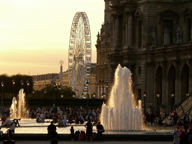 Paris - Les bouillons du Louvre
