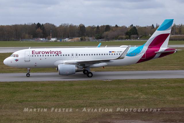 D-AEWF // Eurowings // A320-214(WL)
