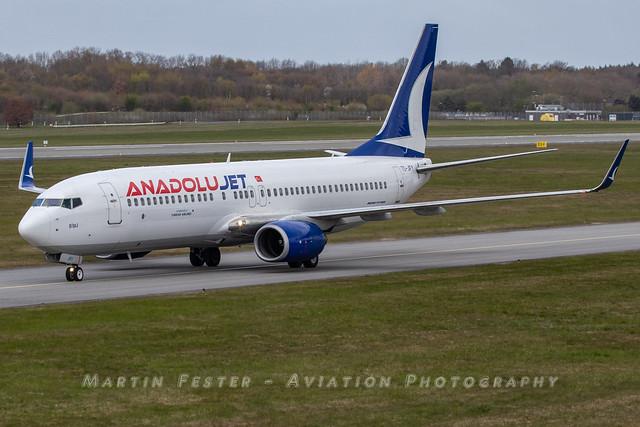 TC-JFY // Anadolu Jet // Boeing 737-8F2(WL)