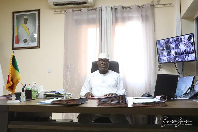 Médecin Général de Brigade, Boubacar Dembélé, Directeur général de la Caisse Nationale d'Assurance Maladie (CANAM)