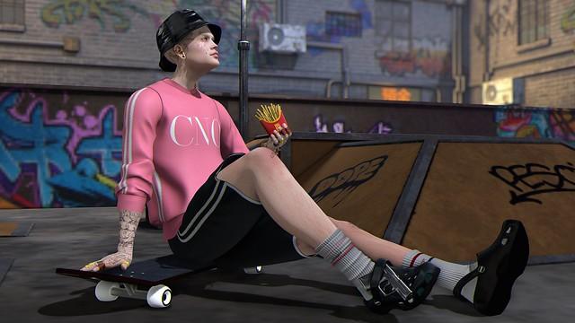 Skater rest