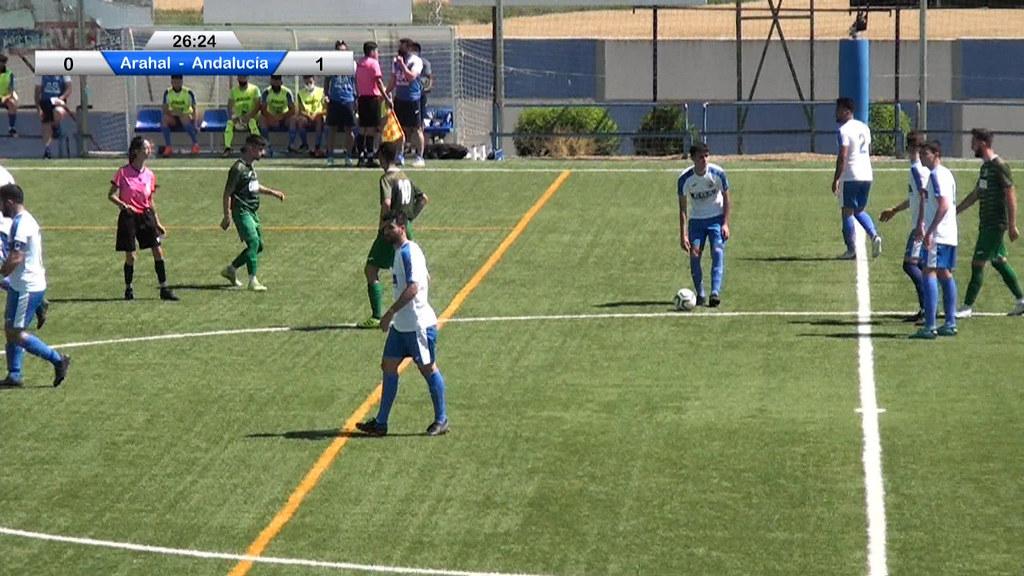 Fútbol: CD Arahal vs Andalucía Este