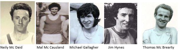 Donegal Athletics 1970 1