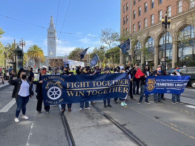 San Francisco May Day 2021