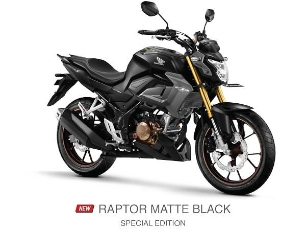 Honda CB150R Raptor Matte Black