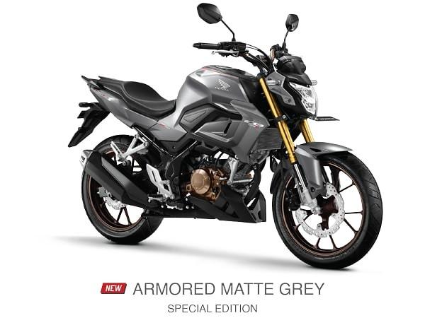 Honda CB150R Armored Matte Grey