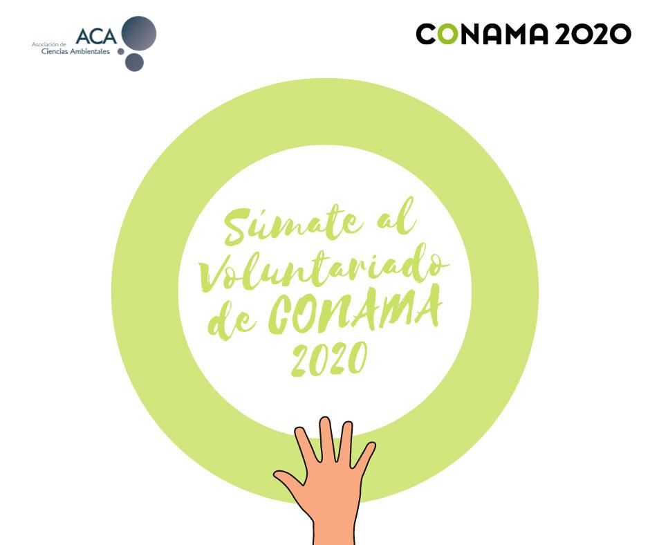 ¡Ya ha llegado! Voluntariado de ACA en Conama 2020 ¿Quieres colaborar?