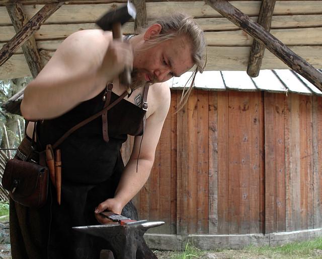 Viking blacksmith